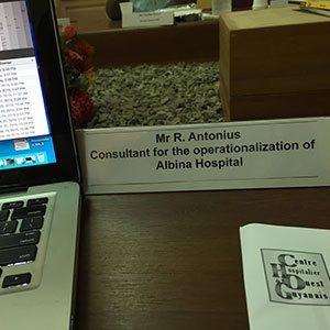 Operationalization Albina Hospital